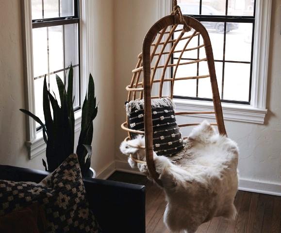 5 шагов, как выбрать и установить подвесное кресло