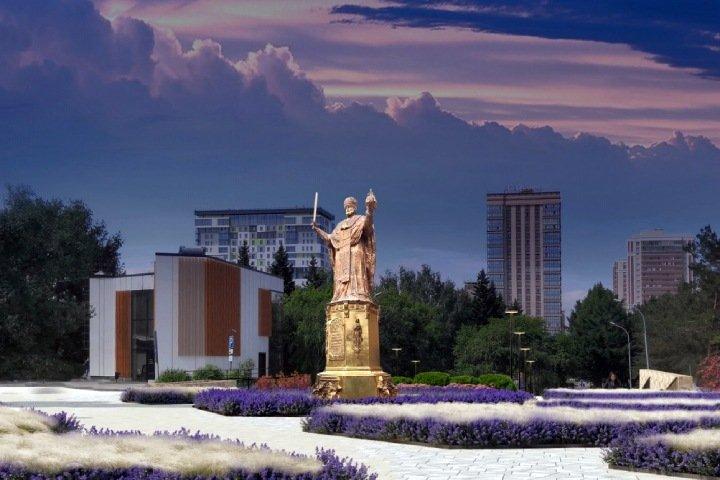 Реконструкция Нарымского сквера Новосибирска: шестиметровый Николай и перенос памятника жертвам катастроф