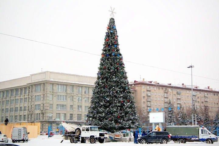 Мэрия Новосибирска отказалась от массовых гуляний на Новый год