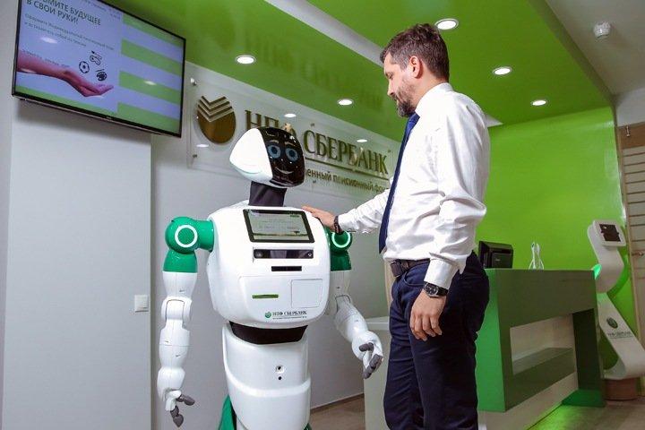 Российские студенты создали робота-музыканта для Сбербанка