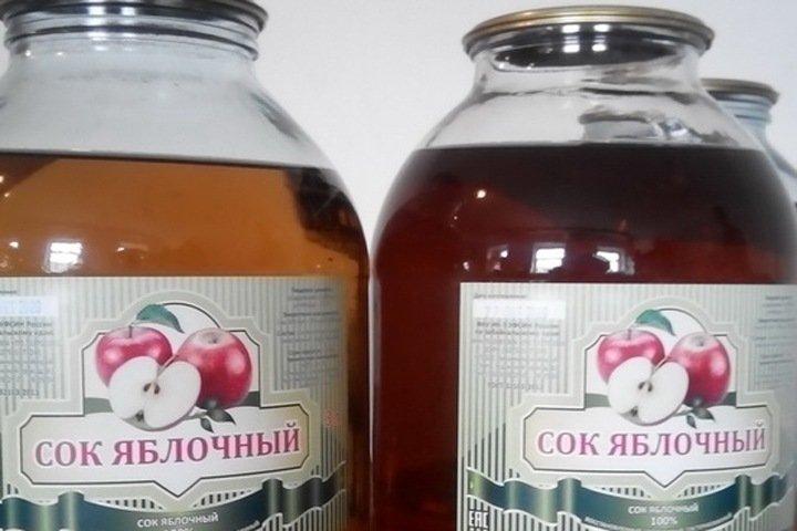 Яблочный сок начали производить в читинской колонии
