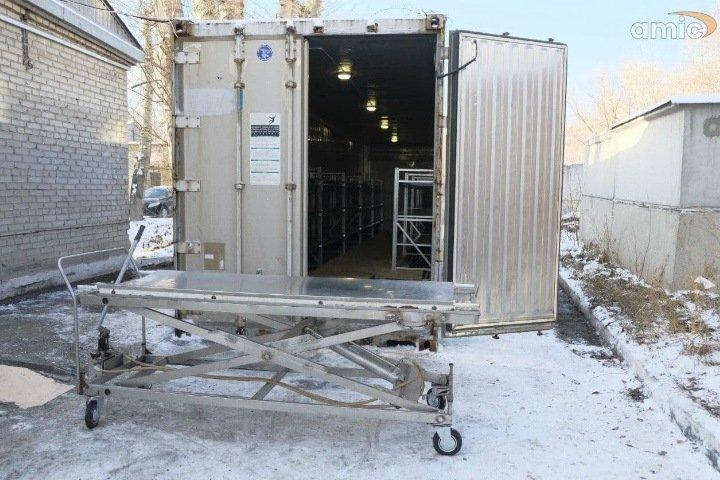 Много тел: погибших от коронавируса в Барнауле будут хранить в рефрижераторе