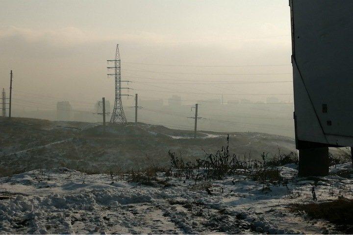 Режим черного неба ввели в Красноярске