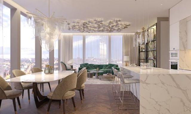 Эклетика и бетон. Тренды интерьера квартир в 2021