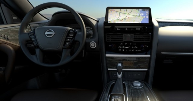 Nissan Armada: новый салон и мульмедийная система