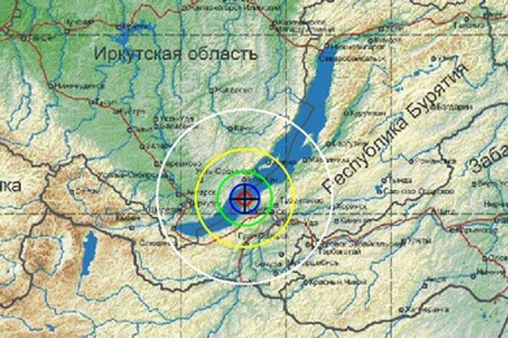 Второе землетрясение за день почувствовали в Иркутске