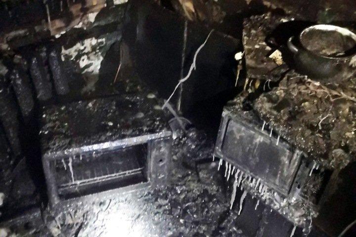 Молодая женщина с детьми погибли при пожаре в Иркутской области. Фото