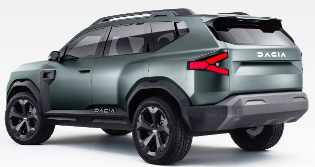 Кроссовер Dacia: первое фото серийного Bigster