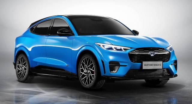 600 км хода: продажи Ford Mustang Mach-E стартовали в Китае