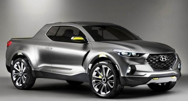 Пикап Hyundai: оригинальный дизайн новой версии