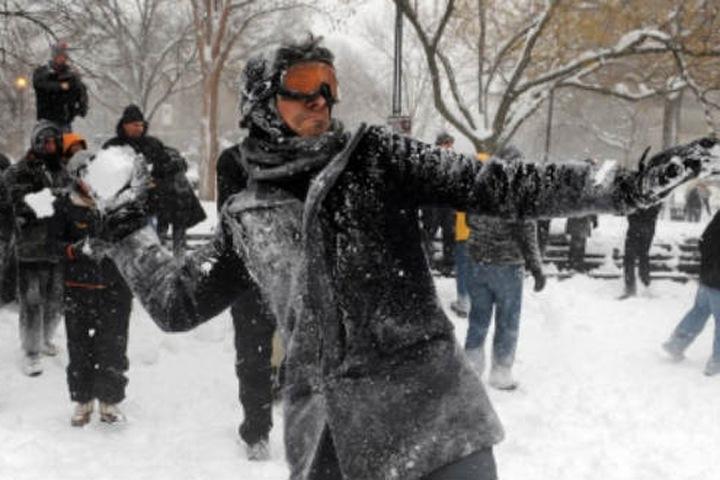 Задержан бросавший «массивные куски снега» в полицейских на шествии в поддержку Навального красноярец