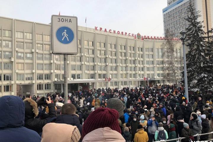 «Причина протеста, бузы и хайпа»: как сибирские власти выразили лояльность Путину из-за Навального