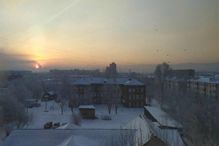 Режим «черного неба» вновь ввели в Красноярске