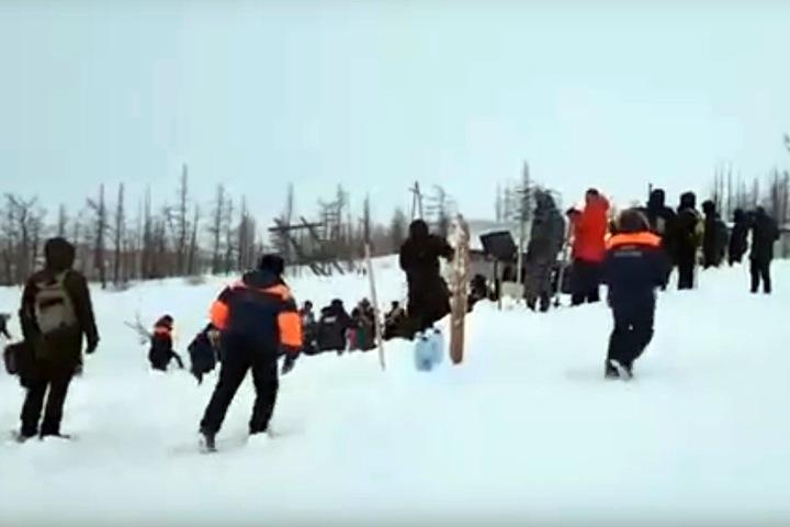 Спасатели нашли всех пропавших после лавины в Норильске. ВИДЕО