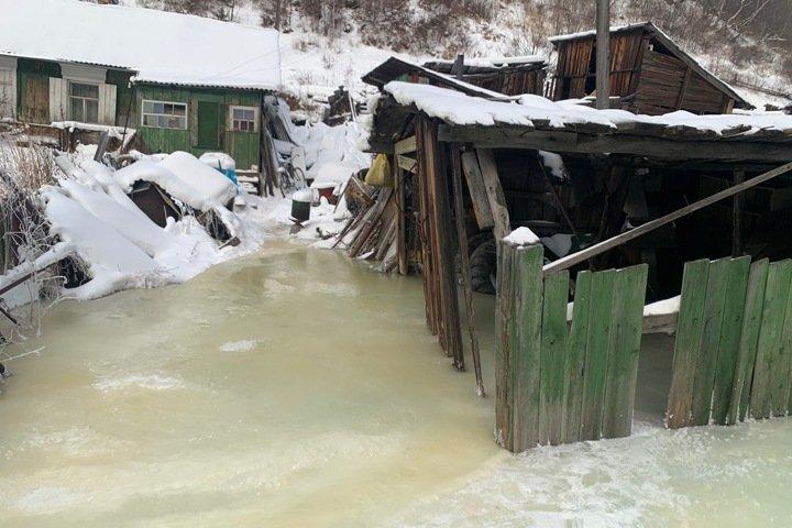 Режим повышенной готовности ввели в байкальском поселке из-за угрозы подтопления