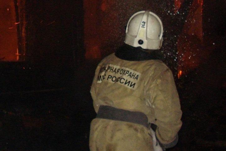 Четверо погибли при пожаре на томской пилораме
