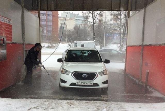 Чистый кузов: как правильно мыть машину на автомойке зимой