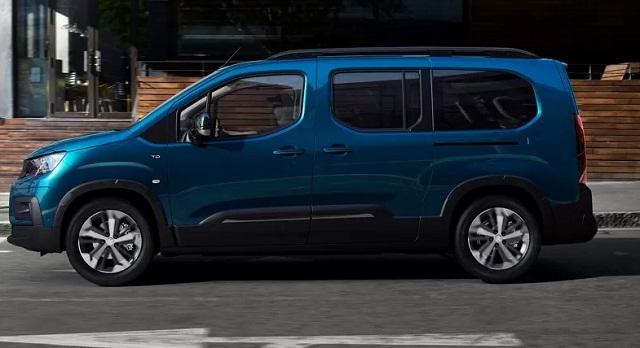 Peugeot показал электрокар минивэн e-Rifter
