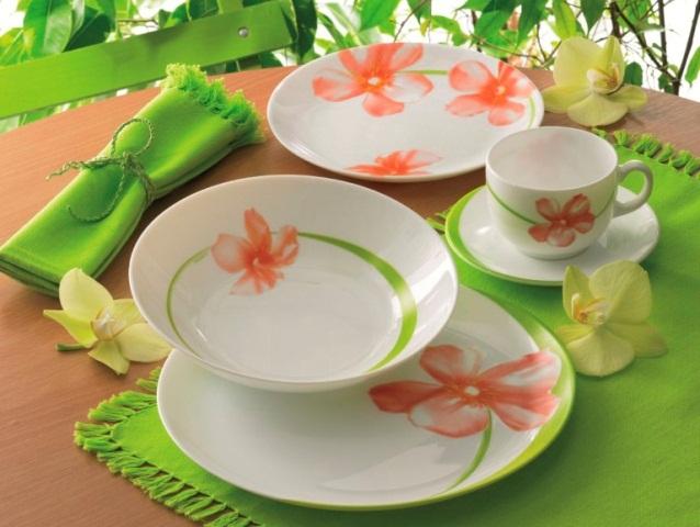 Отличительные свойства брендовых тарелок Luminarc