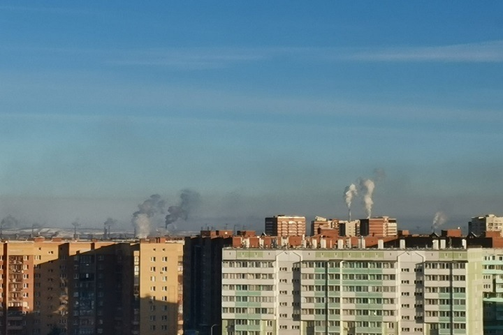 Режим «черного неба» объявили в Красноярске четвертый раз за месяц