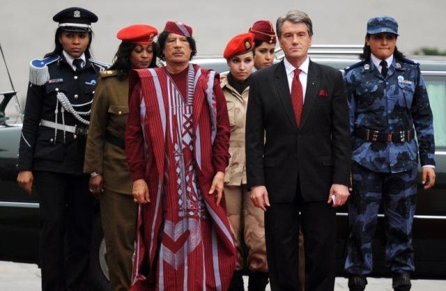 Рослые и смелые: почему Каддафи охраняли девушки