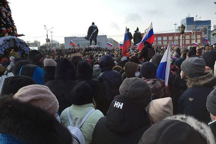 Команда Навального анонсировала новую всероссийскую акцию протеста