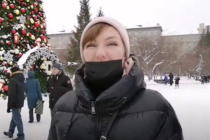 Поддержавшую Фургала жительницу Новосибирска будут судить за удар полицейского «кистью руки»