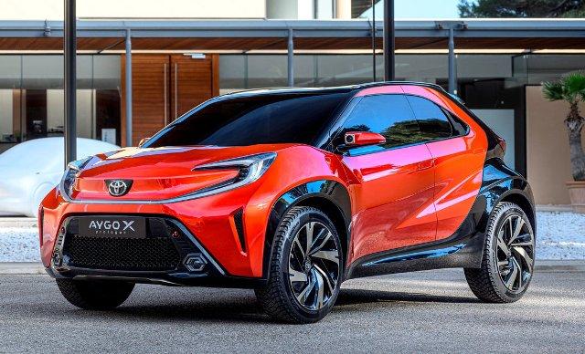 Концепт Toyota Aygo: паркетник вместо хэтча
