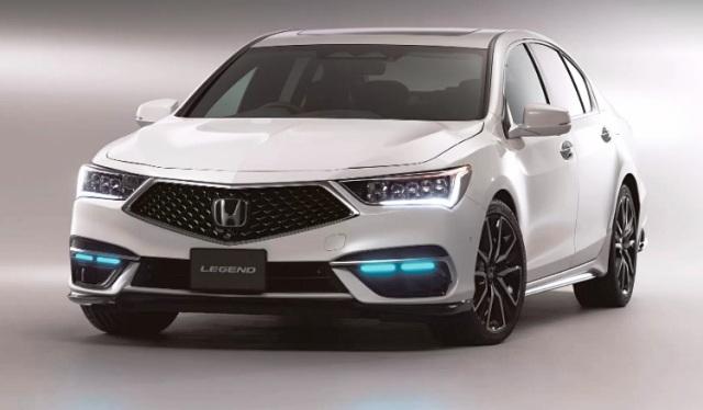 Беспилотная Honda Legend: в серии будет 100 штук
