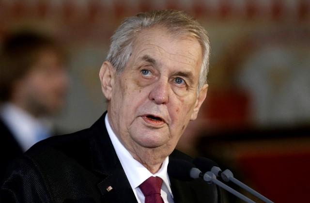 Чешский президент Милош Земан рассказал о роли России в деле о взрыве во Врбетице