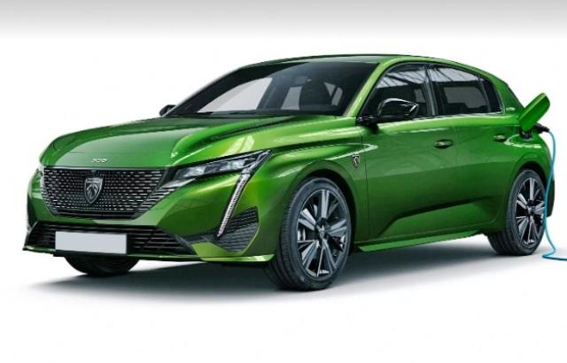 Peugeot 308 и Opel Astra станут электрокарами