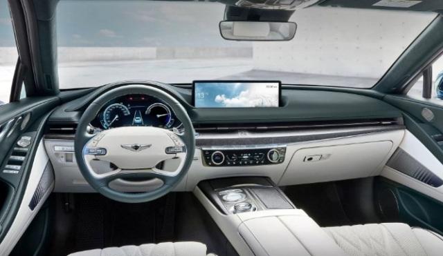 Genesis Electrified G80: комфортный салон и 400 км на зарядке