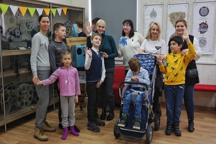 Мультфильмы детям с аутизмом бесплатно показали в Новосибирске