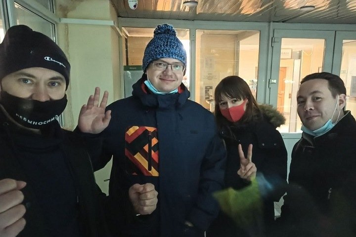 Арестованный за акцию в поддержку Навального томский депутат заявил об антисанитарии в камере