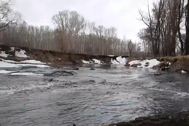 Мэрия Новосибирска заявила об угрозе подтопления из-за подъема уровня воды в реке