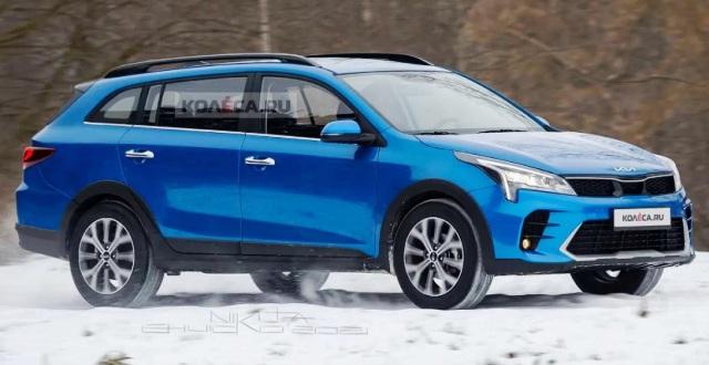 Практичный универсал Kia Rio X: как будет выглядеть новое авто