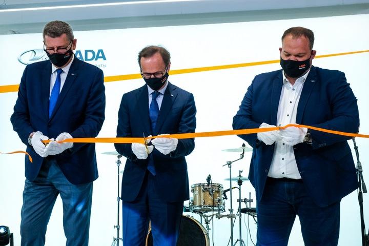 В Новосибирске открыли автосалон LADA ГК «Фастар»