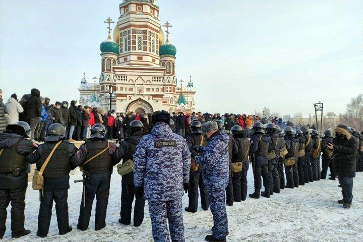 Омская полиция потребовала более 2 млн у сторонников Навального