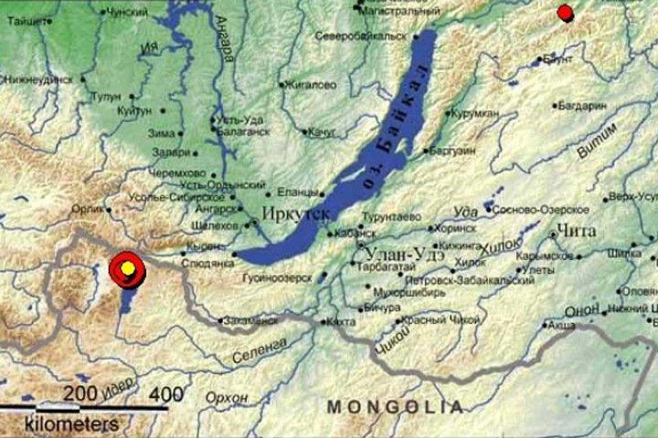 Иркутяне почувствовали сильное землетрясение