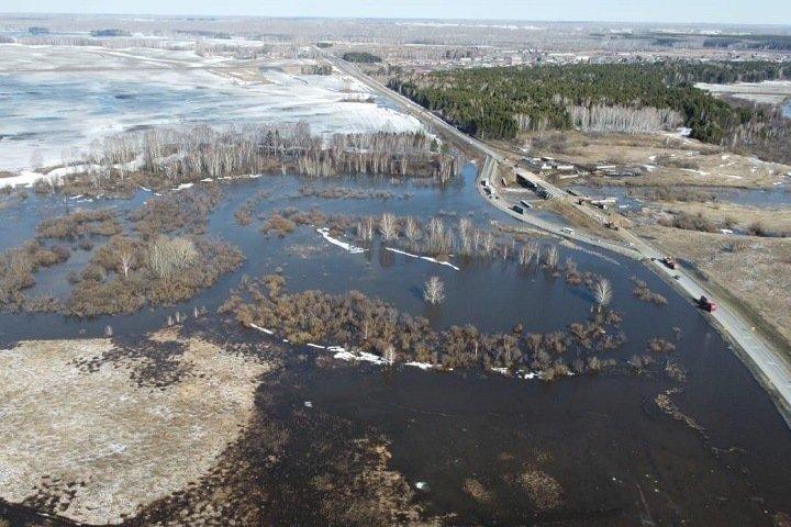 Кузбасские чиновники рассказали о «значительной стабилизации» паводковой ситуации