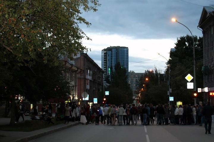 Власти решили повысить эффективность освещения в Новосибирске почти за 1 млрд