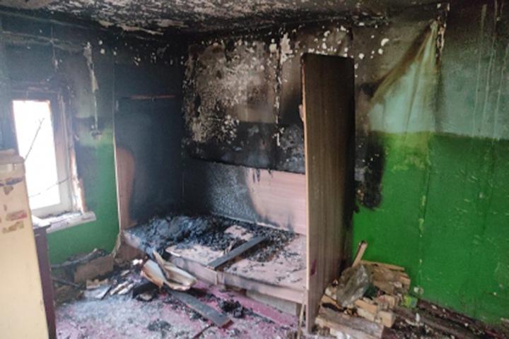 Маленькие дети погибли при пожаре в Приангарье