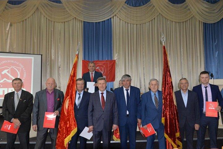 Локоть возглавит список КПРФ на выборах в Госдуму