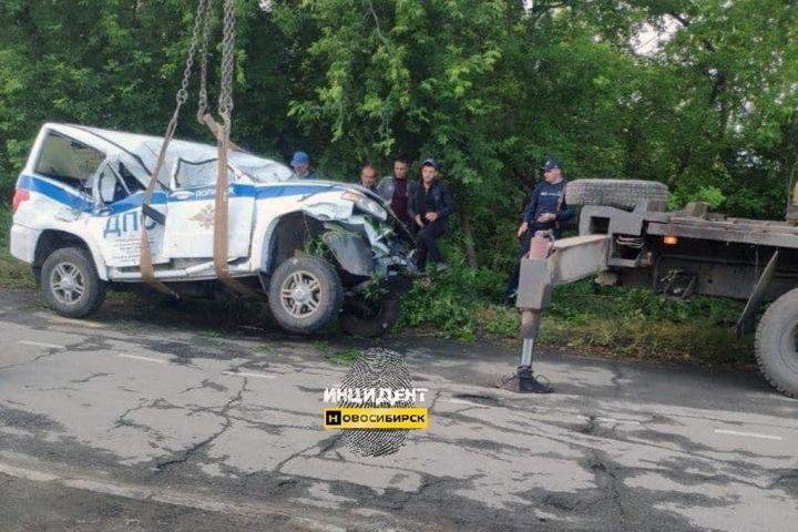 СК возбудил уголовное дело после смерти новосибирского автоинспектора в ДТП