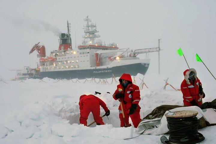 Ученые застряли на год в Арктике специально, чтобы изучить изменение климата