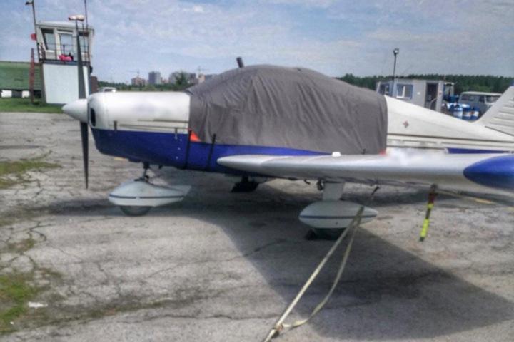 Новосибирец проводил авиаэкскурсии над городом на неисправном самолете