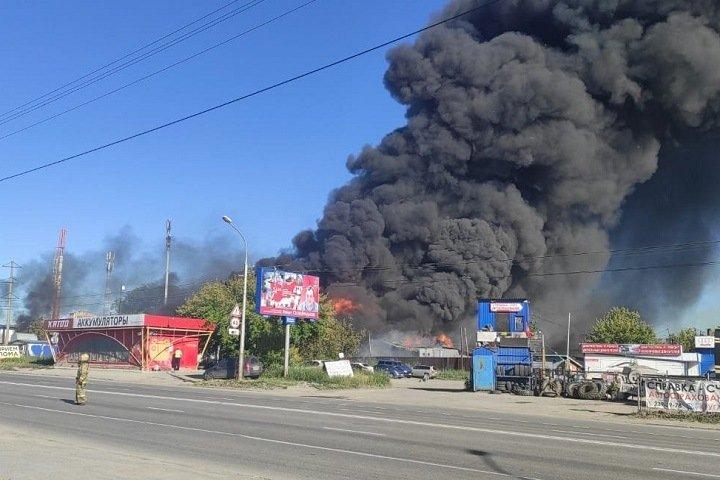 Названа причина взрыва на АЗС в Новосибирске