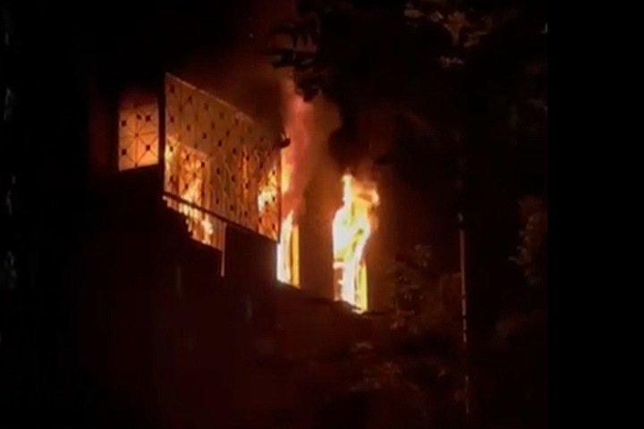Пенсионер погиб при пожаре в Новосибирске