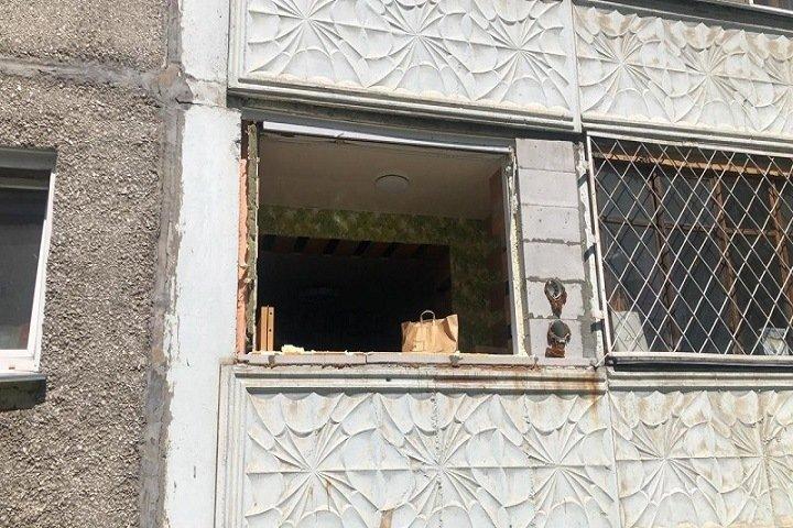 Двое человек пострадали при взрыве газового баллона в Новосибирске