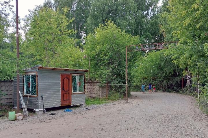 Проезд к новосибирским дачам начали блокировать